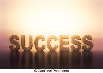big success text