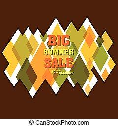 big summer offer sale banner design