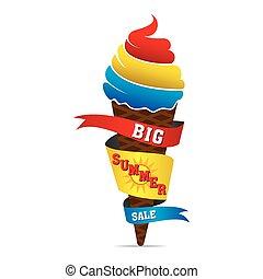 big summer sale banner design