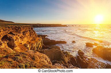Big Sur at sunset