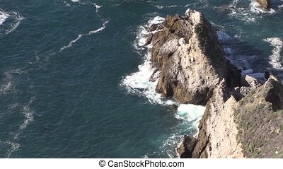 Big Sur California Coast - the beautiful rugged coast of big...