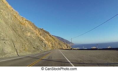 Big Sur Coast View - Driving through Big Sur on the...