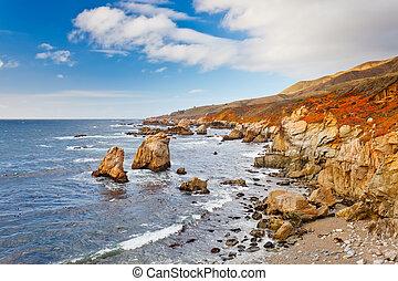 Big Sur Pacific Ocean coast