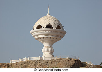 Big Traditional Incense Burner in Muscat, Sultanate of Oman