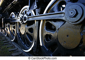 Big Train Wheels