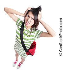Big trouble - Young Teenage girl student