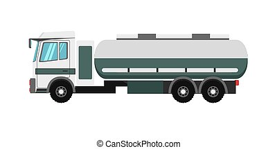 Big truck with fuel