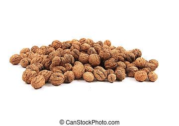 big wallnuts isolated