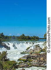 big waterfall in Asian