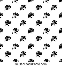 Big wave pattern vector