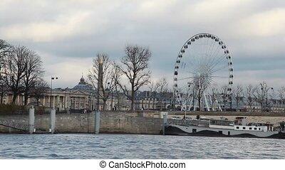 big wheel in Paris, France