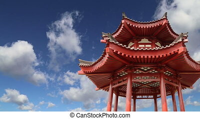 Big Wild Goose Pagoda,China - On the territory Giant Wild...