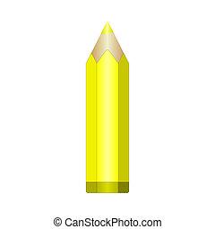Big yellow pencil