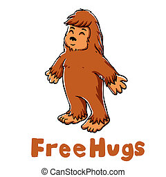 Bigfoot hug
