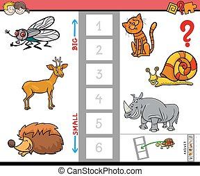 biggest animal educational game for children