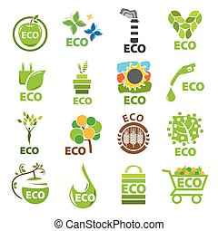 biggest collection of vector logos eco