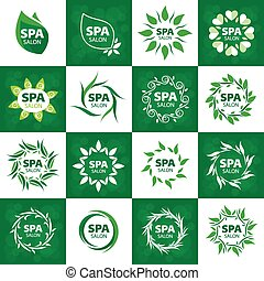 biggest collection of vector logos for spa salon