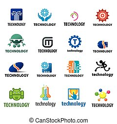 biggest collection of vector logos technology