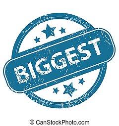 BIGGEST round stamp