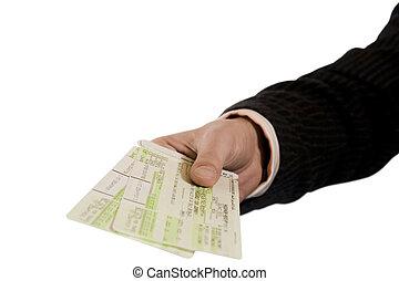 biglietti, aria