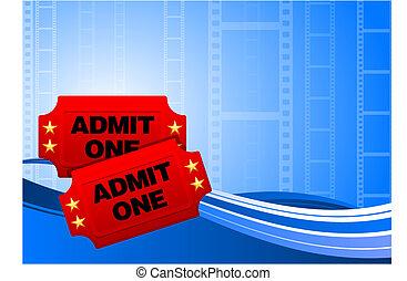 biglietti, film film, fondo