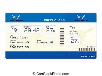biglietto, aereo