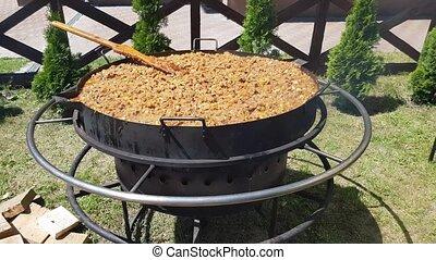 Bigos traditional Polish food - biogas is the traditional...