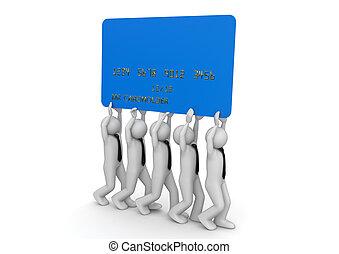 Biiiiig credit card - Finance collection