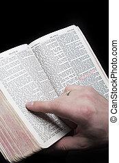 bijbel, brieven, rood