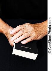 bijbel, handen