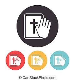 bijbel, pictogram