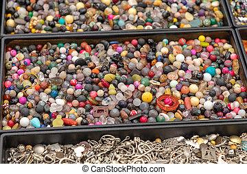 Bijoux Gems Tray - Bijoux Jewellery Gems Craft Material in ...