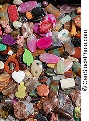 Bijoux Plastic Stones - Variety Mix Plastic Bijoux Gem ...