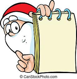 bijzondere , claus, aanbod, kerstman