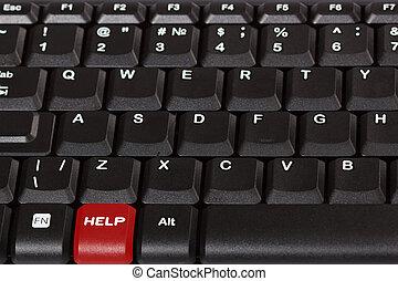 bijzondere , toetsenbord, -, helpen