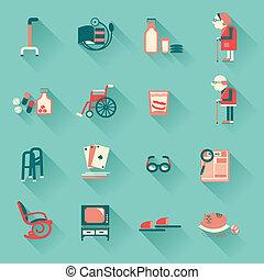 bijzondere , voorwerpen, gepensioneerden, leven