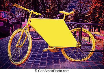 Bike advertise