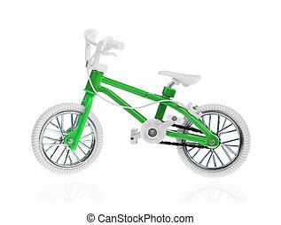 bike, barn