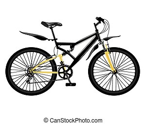 bike - Bicycle sports drawn in vector