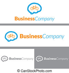 Bike Brain Logo Design