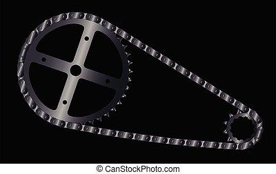 Bike Chain Background