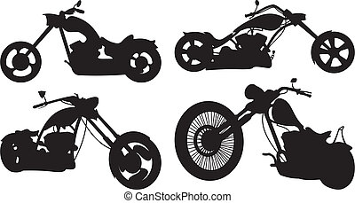 bike - chopper - bike icon, chopper riding, easy rider