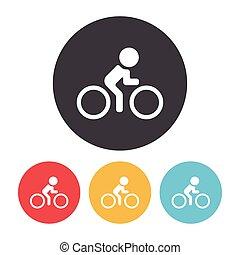 bike cycling icon