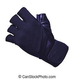 Bike gloves isolated