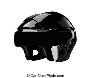 bike helmet on white background