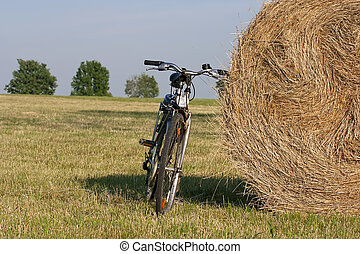 bike in the country side