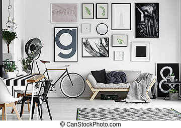 Bike in the room