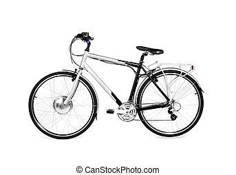 bike isolated on white background