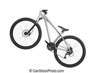 bike isolated on white