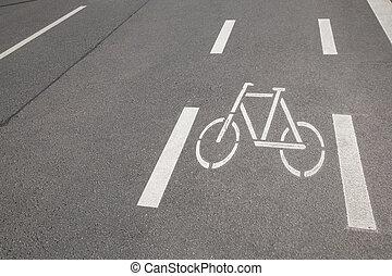 Bike Lane in Cologne